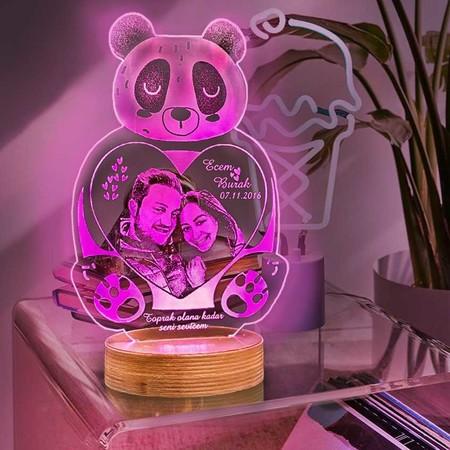 - Panda Led Aydınlatma Lambası