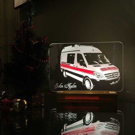 - Ambulans Görselli Aydınlatma