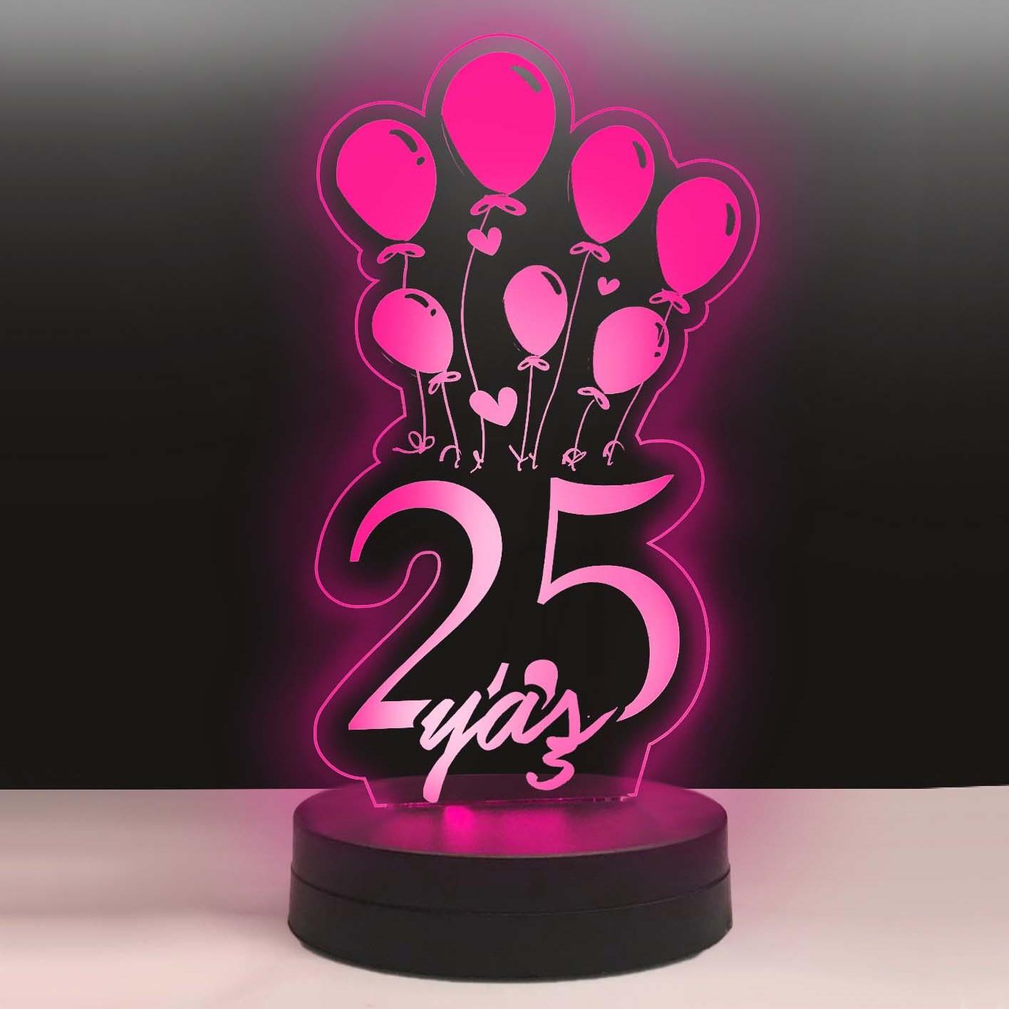 - Balonlu Yaş Led Lamba