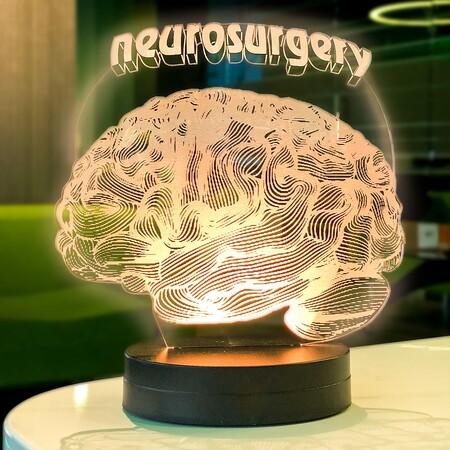 - Beyin Figürlü 3D Lamba
