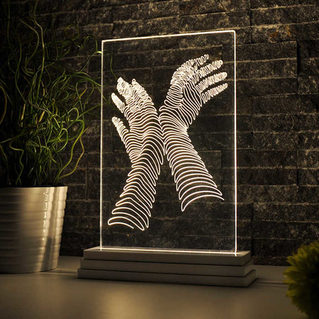 - Estetik Eller Aydınlatma Lambası