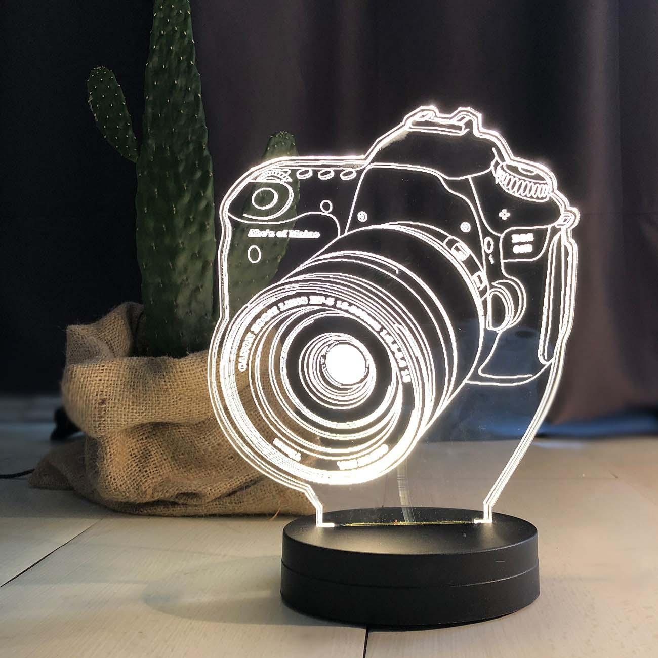 - Fotoğraf Makinası Modeli Led Lamba