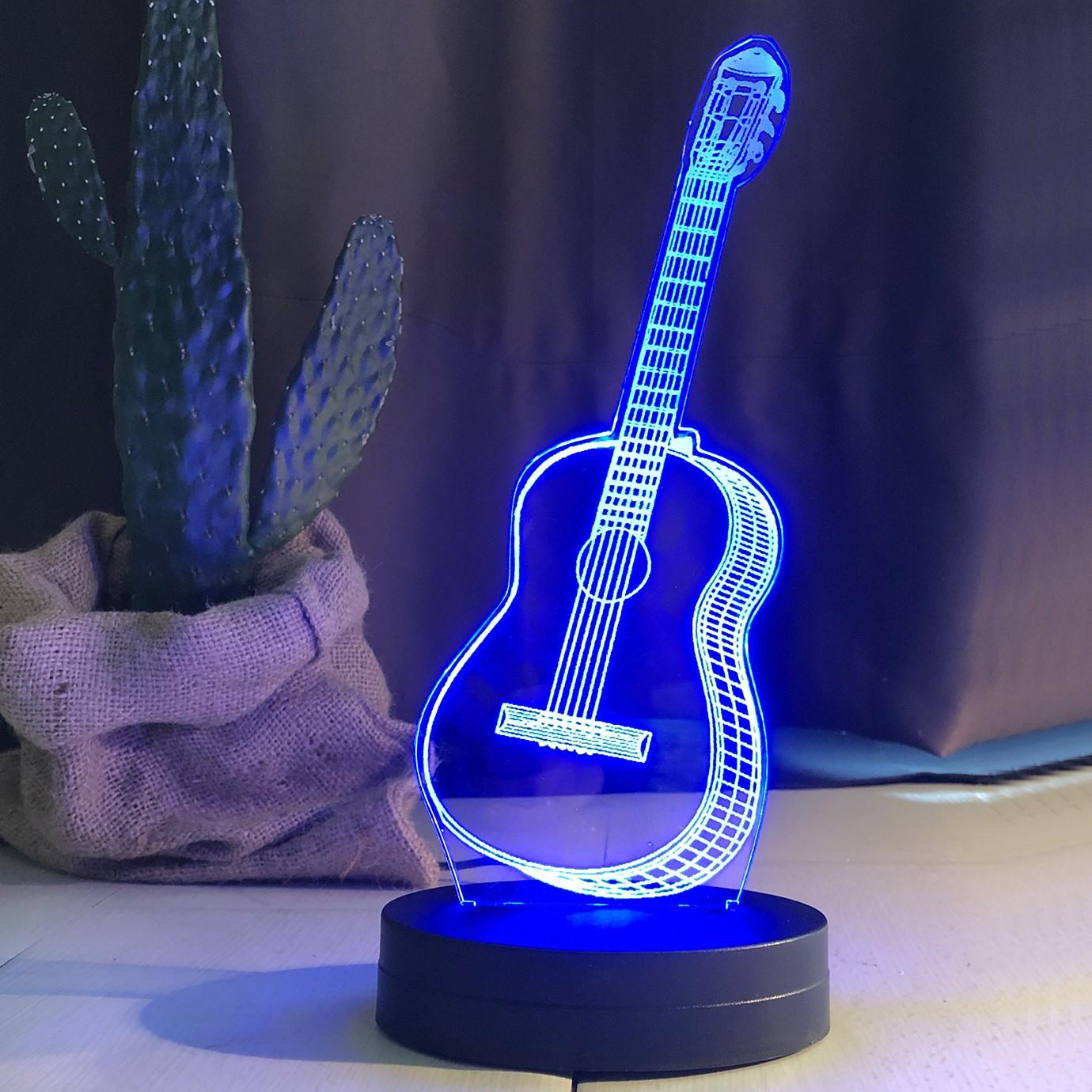 - Gitar Figürlü Led Lamba