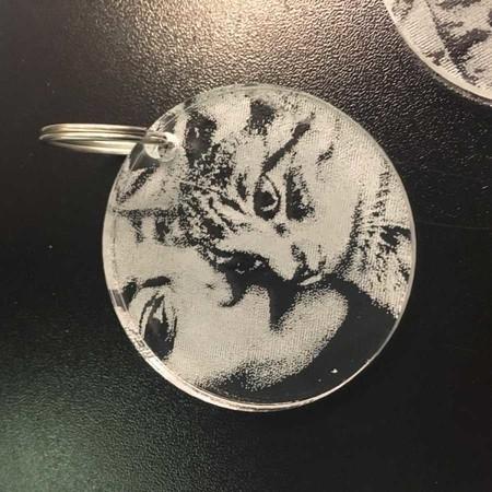 Kişiye Özel Resimli Anahtarlık - Thumbnail