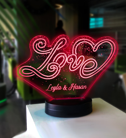 - Love Led Lambası