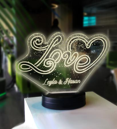 Love Led Lambası - Thumbnail
