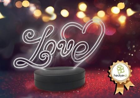 - Love Aydınlatma Lambası