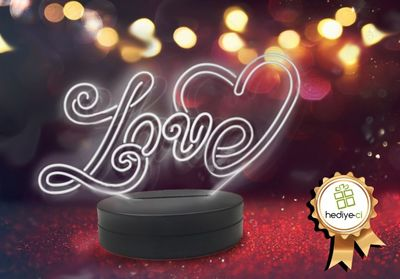 Love Aydınlatma Lambası