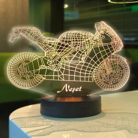 - Motorsiklet 3D Lamba
