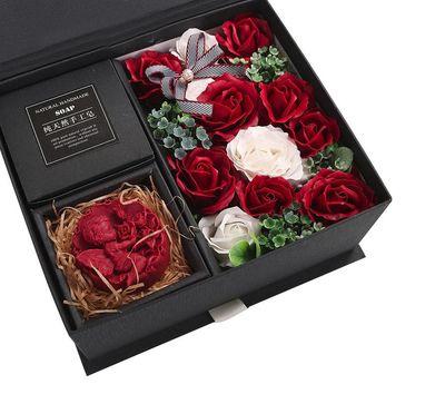 Sabunlu çiçekli Kutu