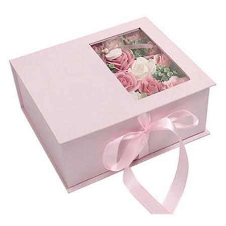 Sabunlu çiçekli Kutu - Thumbnail