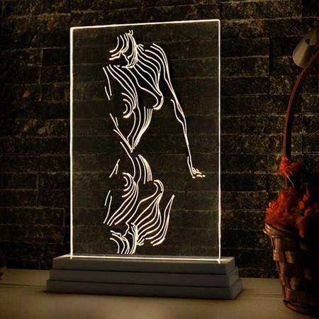 Woman Aydınlatma Lambası - Thumbnail