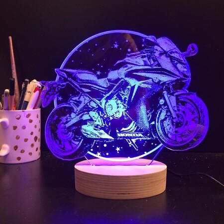 - Yıldızlı Motorsiklet Lamba